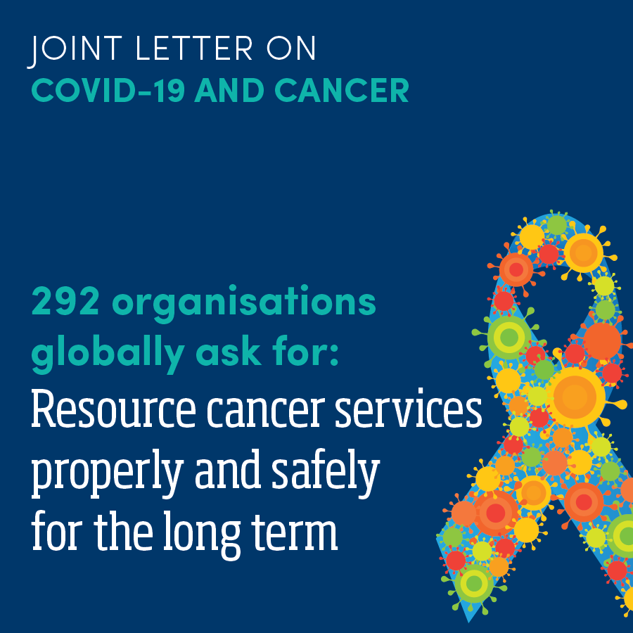Joint letter on covid-19 and cancer WBCPC